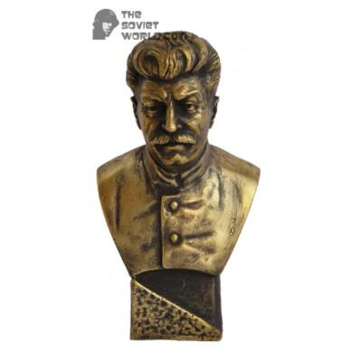 Soviet Russian Bronze bust of Stalin