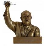 Russian bronze bust Soviet Secretary Khrushchev