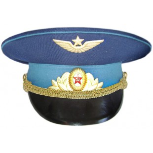 Soviet Air Force / Russian Aviation Parade Officer Visor Cap M69