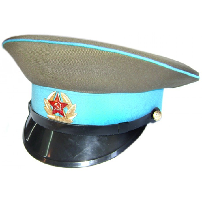 ce087d255 Soviet Army / Russian Airborne Troops Sergeant's Visor Hat M69