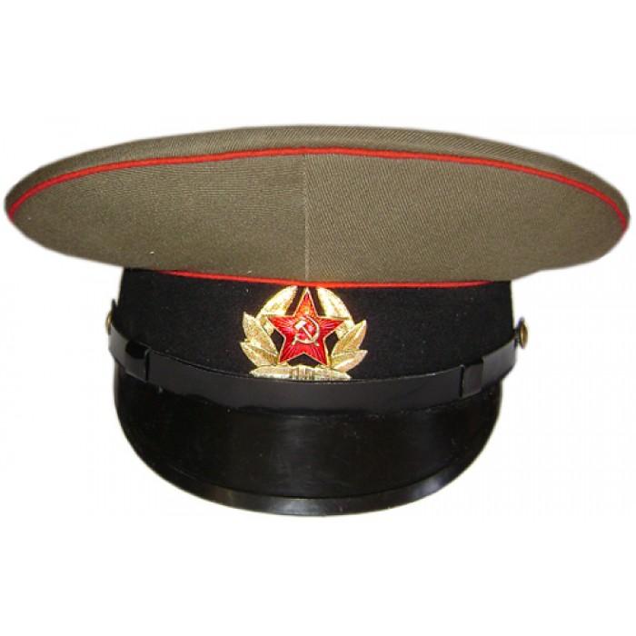 3410c5afe Soviet / Russian Army Sergeant's Visor Hat of Artilery & Tank troops M69
