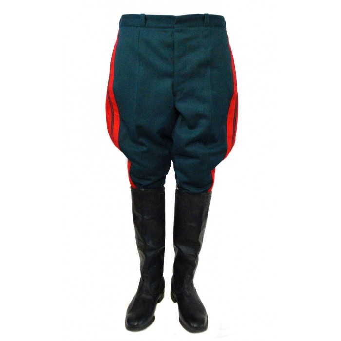 Soviet Red army General pants / Russian military parade Galife trousers