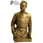 Russian Bronze statue Soviet revolutioner bust of Dzerzhinsky