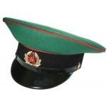 Russian / Soviet Army Frontier Guards Sergeant visor cap