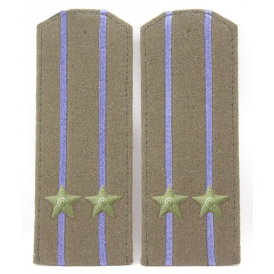 Soviet WWII / Red Army original shoulder boards high-ranking officer of NKVD