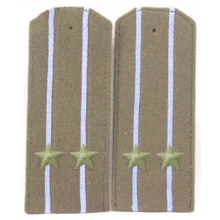 Soviet WWII / Red Army original shoulder boards high-ranking AVIATION officer