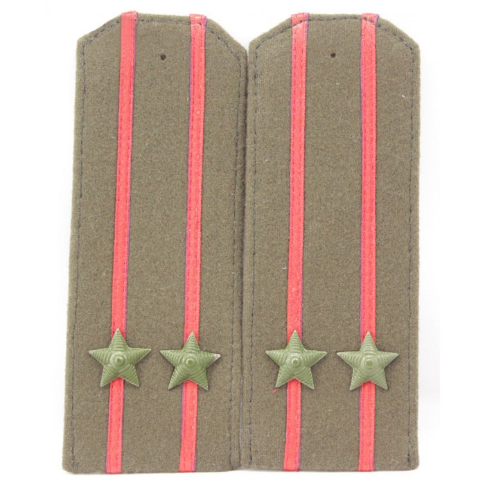 Soviet WWII / Red Army original shoulder boards high-ranking officer
