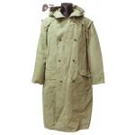 Soviet original soldier's Overcoat WW2 military USSR canvas raincoat M59