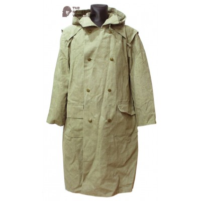 Soviet original soldier's Overcoat WW2 military USSR canvas raincoat M59