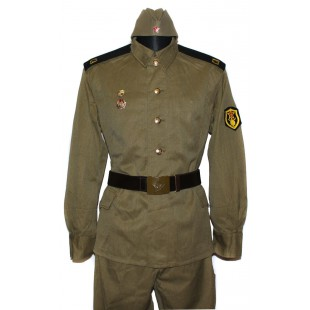 Soviet / Russian Soldier construction battalion military uniform M69