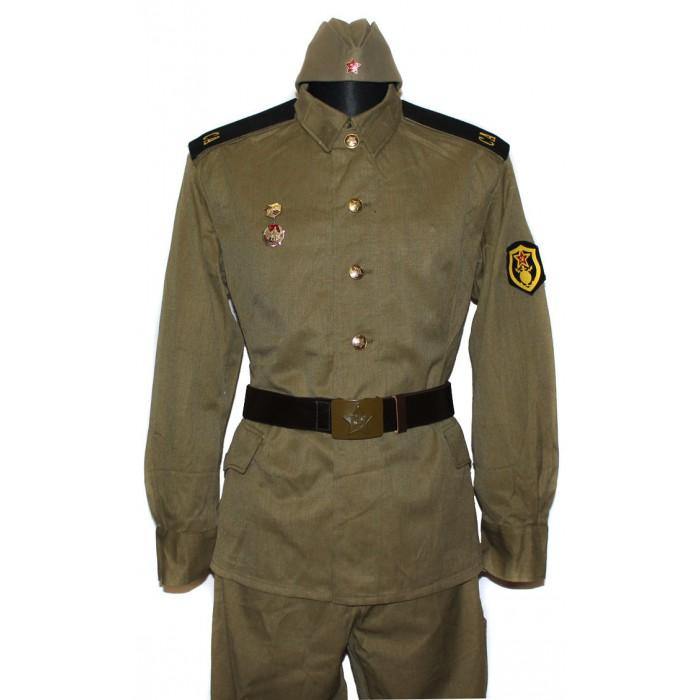 Soviet / Russian Soldier construction battalion military uniform M69