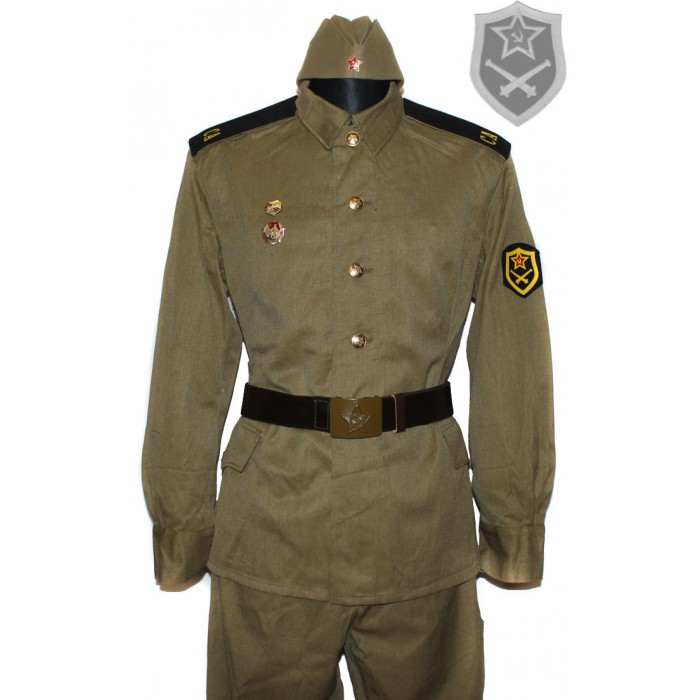 Soviet / Russian Soldier ARTILLERY FORCE military uniform M69