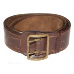 Soviet military GENUINE leather Officer's military brown Portupeya Belt MOSCOW FACTORY