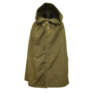 Original Soviet Military Raincoat, Vintage Russian soldier's Groundsheet