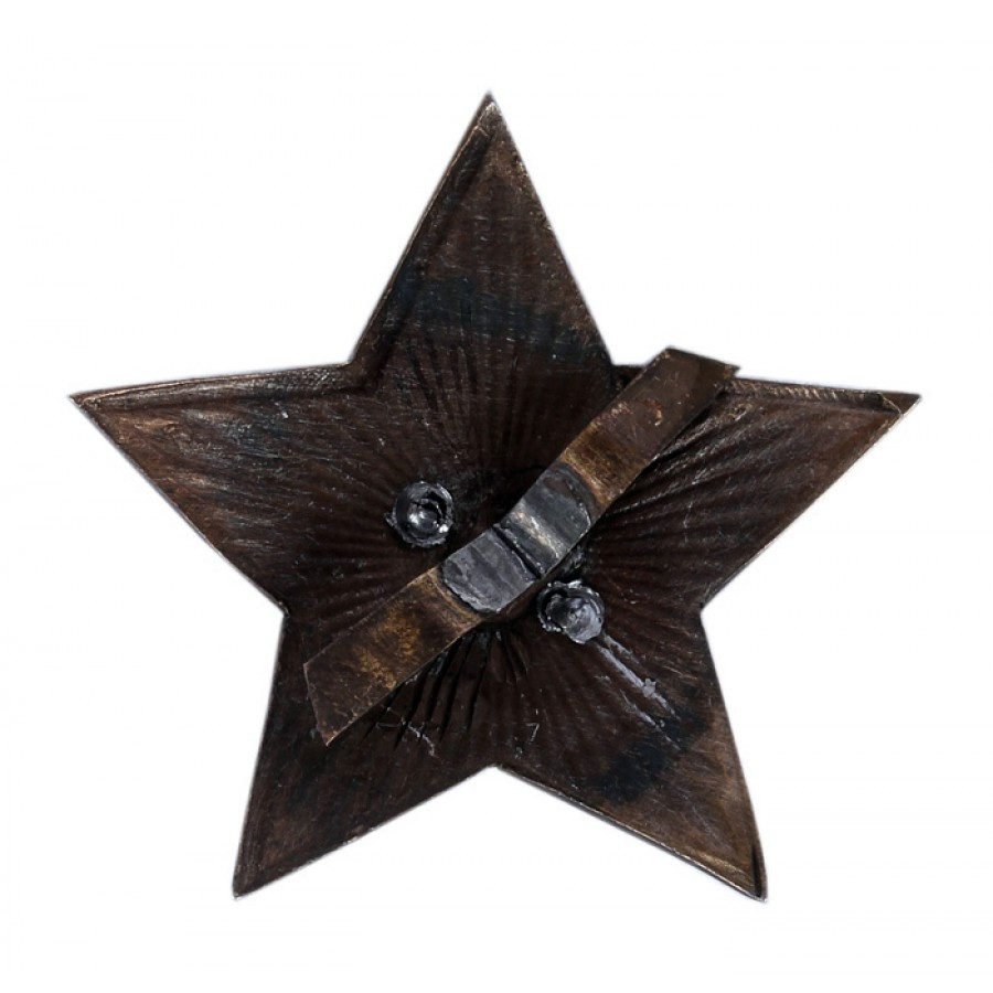 Soviet Red Army Russian Military BIG RED STAR USSR pin badge model 1925s