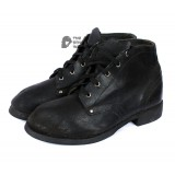 Soviet RKKA army Russian military soldier's Leather black Kersey USSR boots