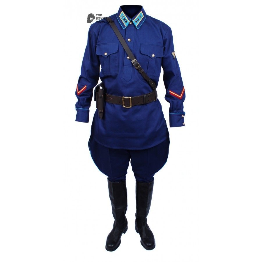 Soviet Red Army WWII Russian military AVIATION lieutenant uniform M40