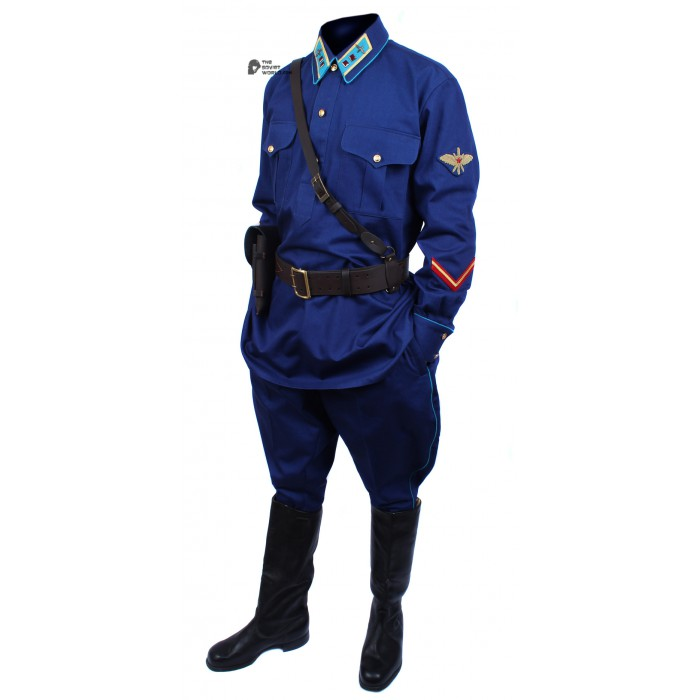 Soviet Red Army WWII Russian military AVIATION lieutenant uniform M40