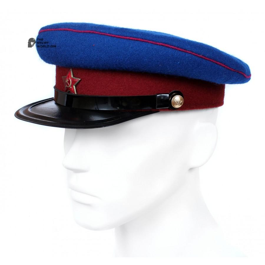 Soviet Army WWII The Highest quality NKVD Officer's military RKKA visor hat