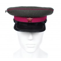 Soviet Army WWII The Highest quality Infantry Officer's military RKKA visor hat