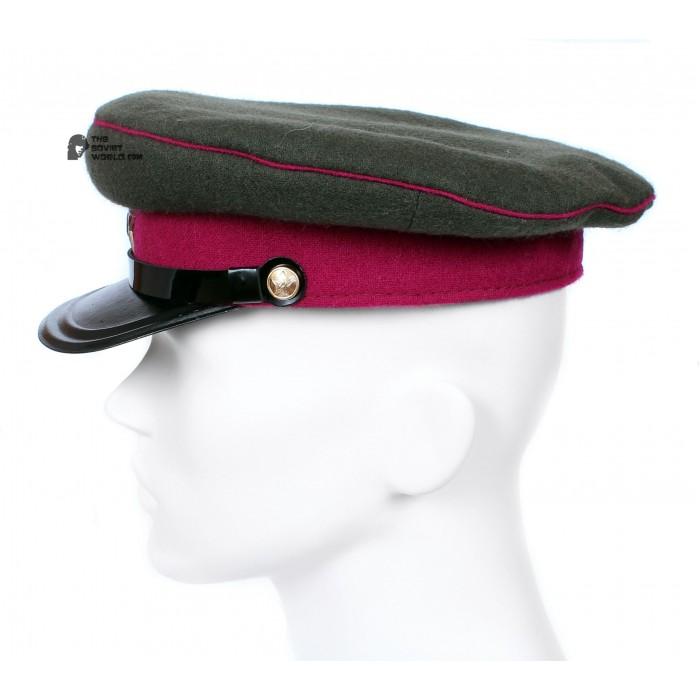 Soviet Army WWII The Highest quality Infantry Officer's military RKKA visor hat