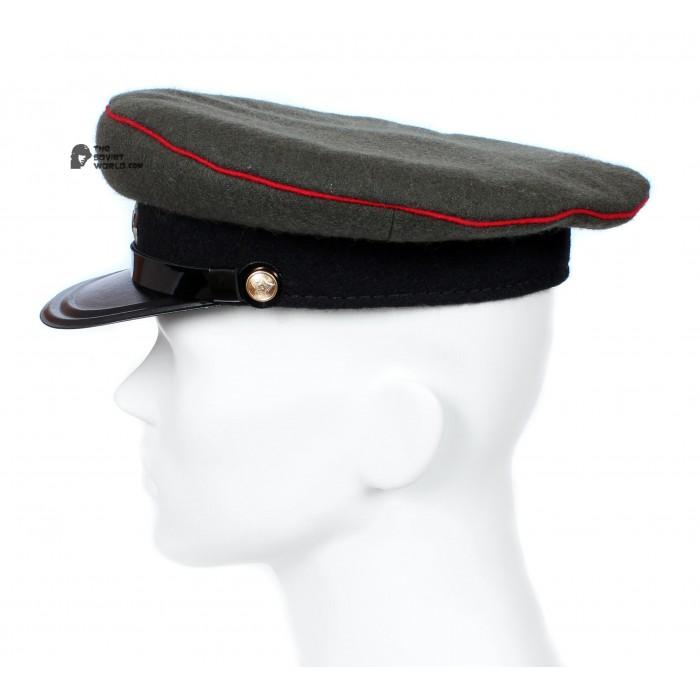 Soviet Army WWII The Highest quality Artilery & Tank Officer's military RKKA visor hat