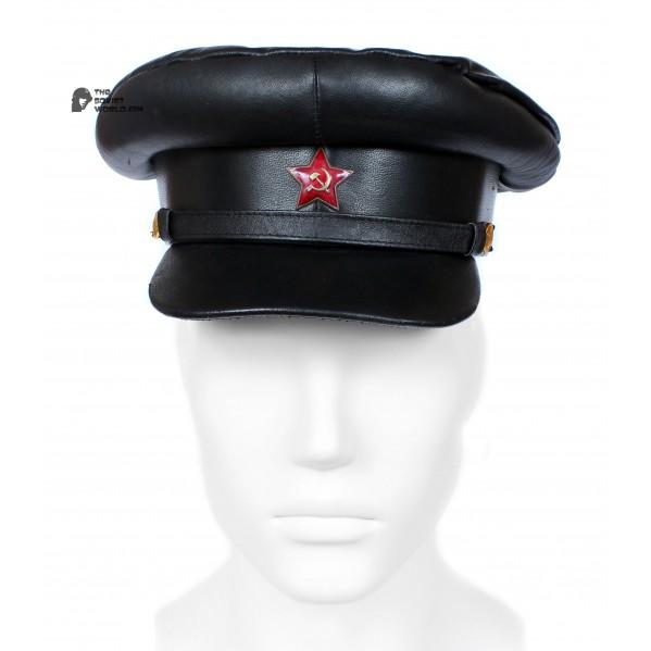 Russian Ushanka Military Winter Soviet USSR Officer Army Uniform Rare