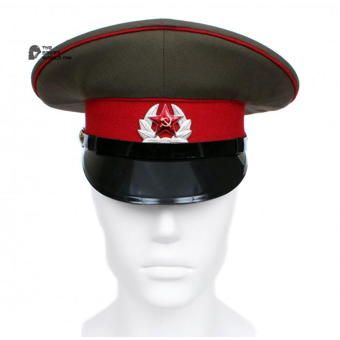 Soviet Rer Army / Russian Infantry Sergeant's Visor Hat M69