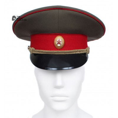 Soviet Army Officer visor cap of Russian Infantry troops M69 USSR hat