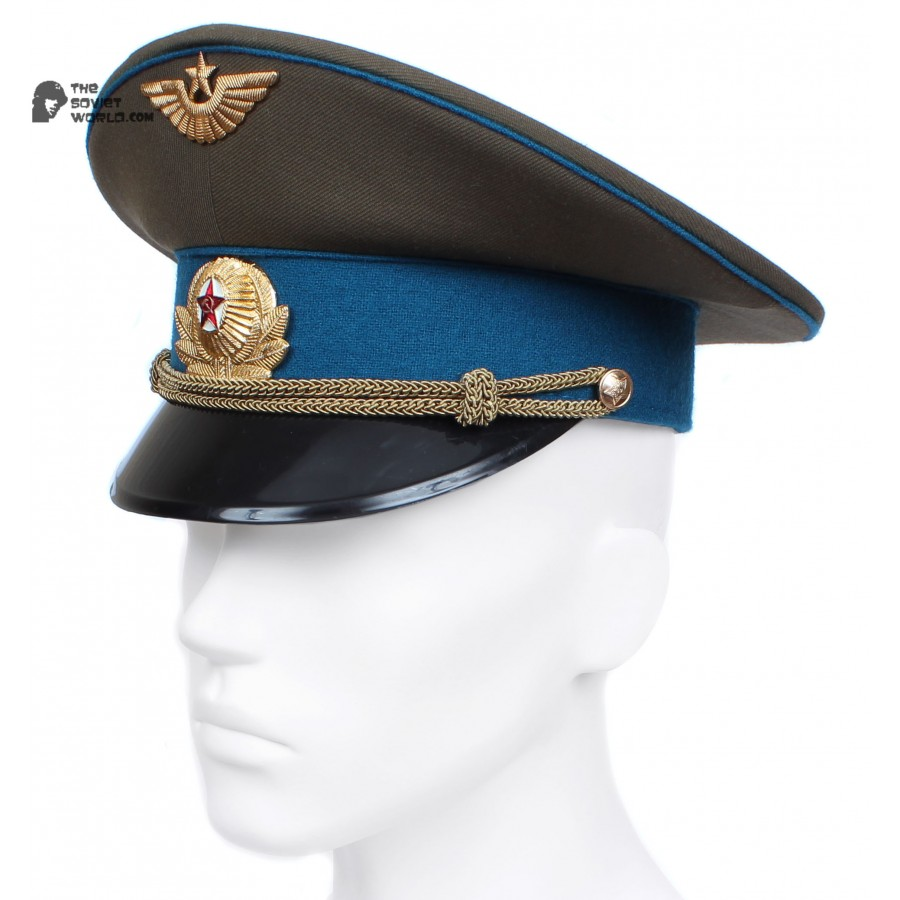 Soviet Air Force Officer's visor hat Russian aviation M69