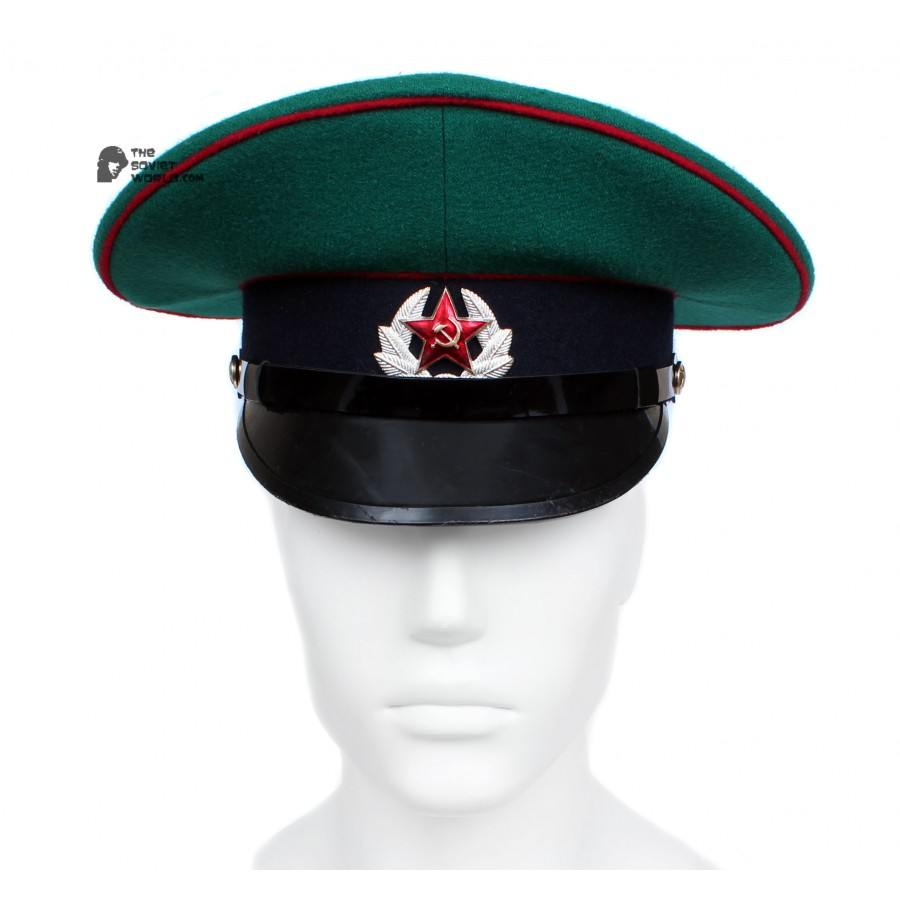 Russian / Soviet Army Frontier Guards Sergeant visor cap