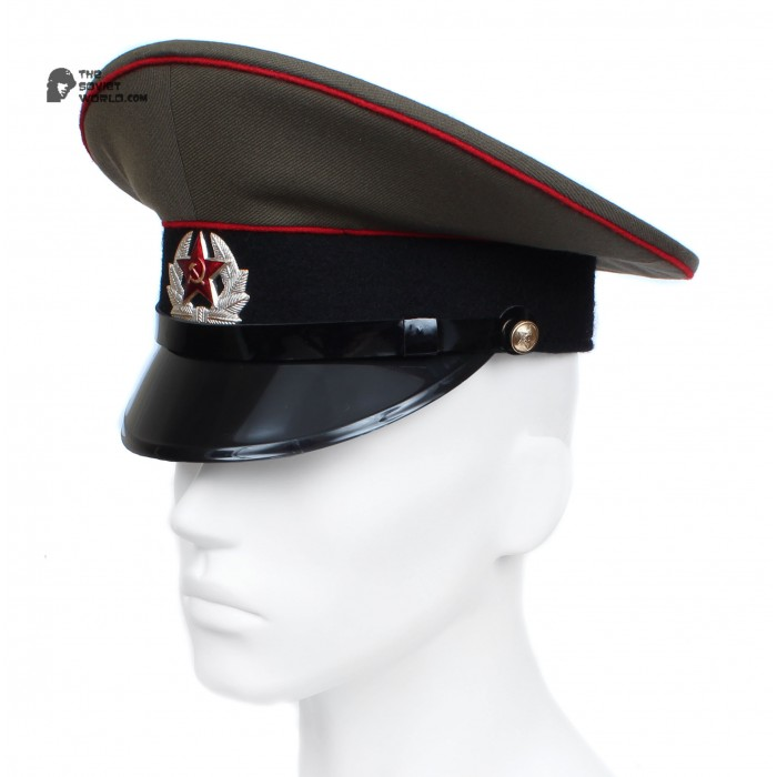 Soviet / Russian Army Sergeant's Visor Hat of Artilery & Tank troops M69