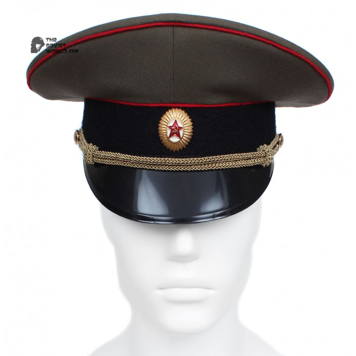 Soviet / Russian Army Officer visor cap of Artilery and Tank forces M69