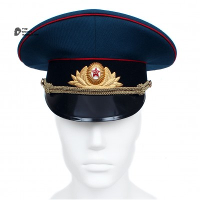 Soviet / Russian Army PARADE Officer's visor cap of Artilery and Tank forces hat M69