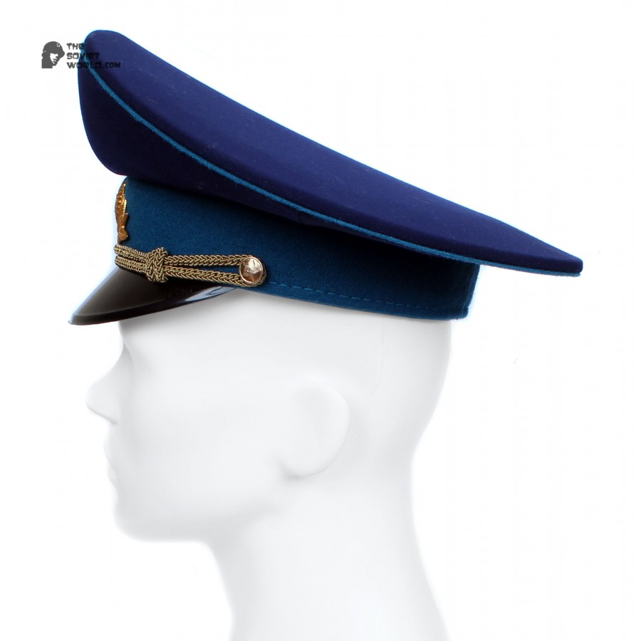 Soviet Air Force / Russian Aviation Parade Officer Visor Cap M69