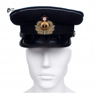 Soviet Army WWII The Highest quality Naval Aviation Officer's military RKKA visor hat