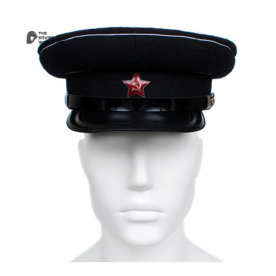 Soviet Army WWII The Highest quality Naval Officer's military RKKA visor hat