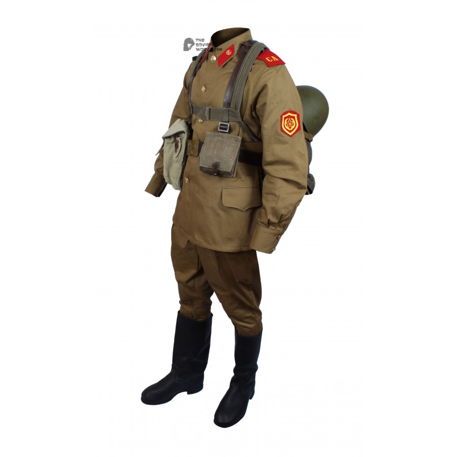 1969 Original Soviet Military Infantry Soldier's Uniform M69, Vintage USSR Army Suite