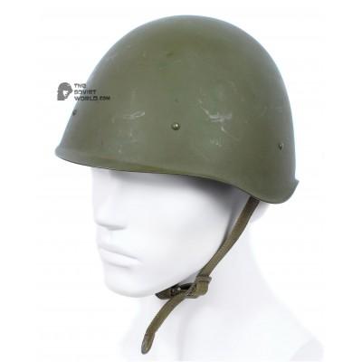 Original Vintage WWII Soviet military protection steel helmet SSH-40, RKKA stuff 1950s