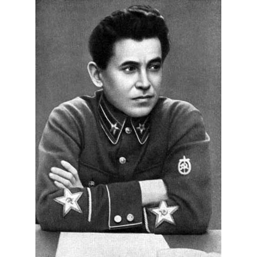 Soviet Handmade RKKA NKVD Officer's patch, Red army embroidery