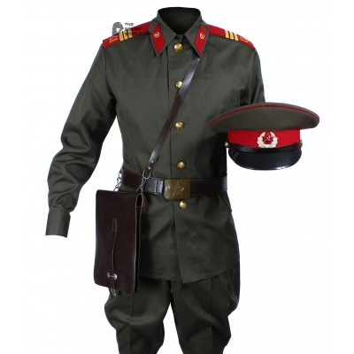 1969 Original Soviet Military Infantry Sergeant's Uniform, Vintage USSR Army Set with Hat