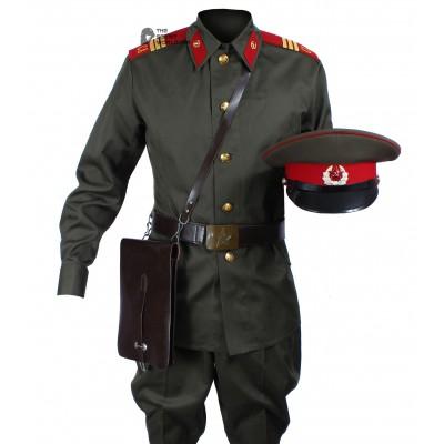 1969 Original Soviet Military Infantry Sergeant's Uniform, Vintage USSR Army Set with Hat