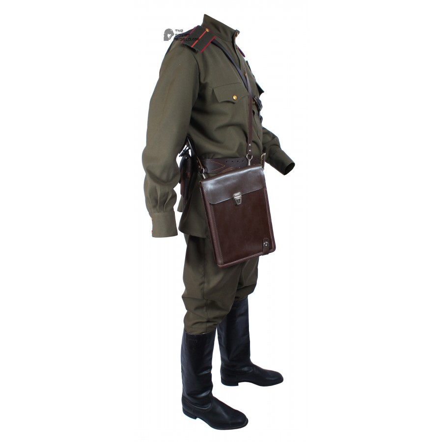 WWII 1943, Soviet Military Officer's Artilery & Tank force Uniform, USSR Red Army Set M43