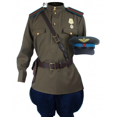 Soviet Red Army WWII Russian Aviation uniform M45