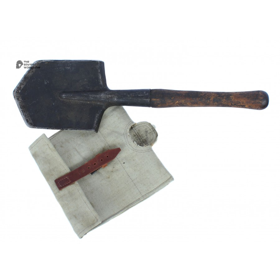 RKKA M35, Soviet Army Infantry Small Shovel type 1935s , Russian Military Solrier's Spade