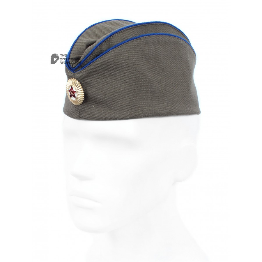Soviet special department KGB Officer's hat Pilotka, Russian army cap