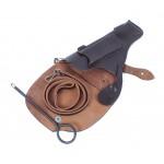 Original Soviet Military Leather Tokarev TT-33 pistol holster, Vintage Russian Army Stuff