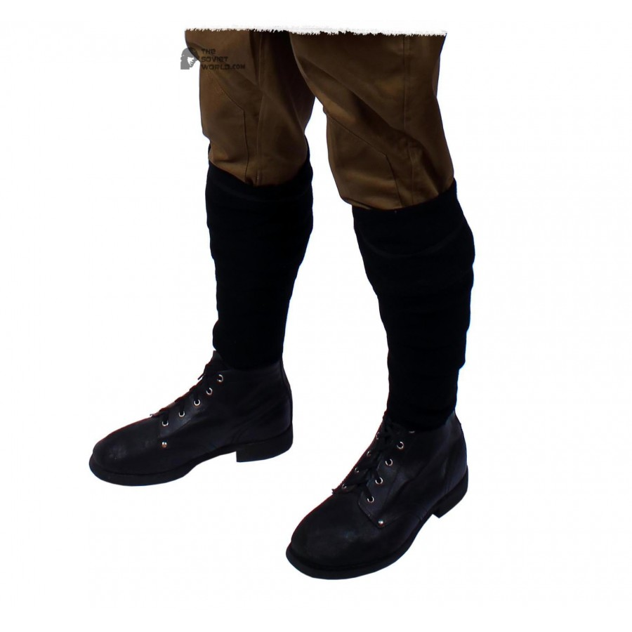 RKKA 1935, Soviet Military Soldier's black voolen boot's winding, USSR Red Army M35 stuff
