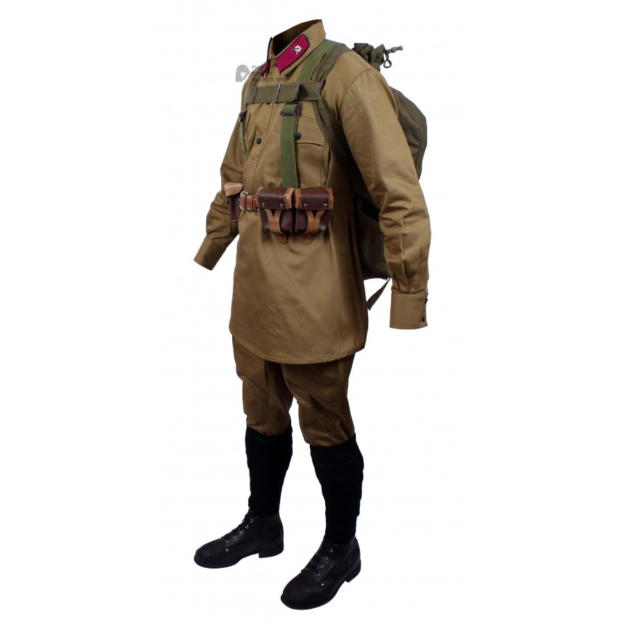 M35 Soviet Red Army RKKA Soldier's military Infantry uniform 1935s