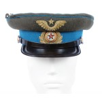 M43 Soviet Army WWII The Highest quality Aviation Officer's military RKKA visor hat 1943